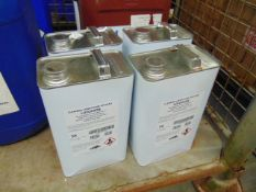 4 x Unissued 5L Tins of Lotoxane Non-Flammable Cleaner/Degreaser