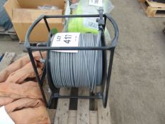 Cable Reel c/w Armoured Cable as shown