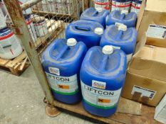 6 x Unissued 25L Drums of Liftcon Ecosafe SDS133 Chemically Powerful Biodegradeable Degreaser