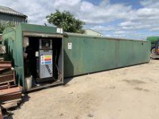 50,000 litre Bunded Fuel Tank & fuel Management System (used for white diesel)