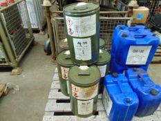 6 x Unissued 25L Drums of AL-39 Ethylene Antifreeze