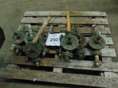 8x Antique K2 Semi Rotary Pump as shown