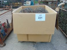 LARGE QUANTITY OF CAMOUFLAGE KITS INC POLES, MUSHROOMS ETC. 1X TRI-WALL INCLUDED IN SALE
