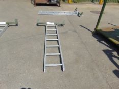 6FT Aluminium Vehicle Access Ladder, ideal for Land Rover etc Unissued
