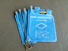 Q 4 x Heavy Duty 4 Gallon Collapsible Water Carriers