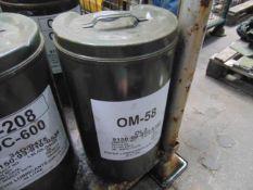 1 x Unissued 20L Drum of OM-58 High Quality Light Compressor Oil