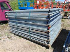 30 x Heras Style Hoarding / Security Fencing Panels 3.5m x 2m