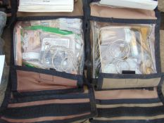 6x Individual Survival kits as shown unissued