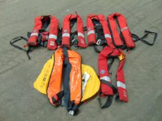5 x Crewsaver Life Jackets & 1 x Typhoon Life Jacket