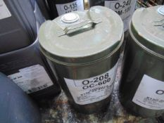 1 x Unissued 25L Drum of OC-600 High Performance Gear Lubricating Oil