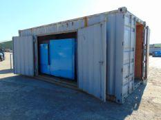 Containerised Boge S125 High Capacity Screw Compressor c/w Beko Drypoint RA120 Compressed Air Dryer