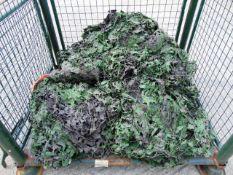Ex Reserve Unissued Large 11m x 5m Original Camouflaged Woodland Netting