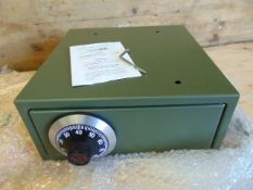 UNISSUED Chubb Manifoil Combination Lock Safe Box