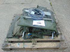 12x Vehicle CES wash down kits inc brushes, pump, poles etc