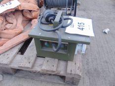 230v - 110v HD Transformer unit unissued