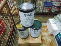 9 x Unissued 3Kg Drums of PX-7 Lubricating Grease
