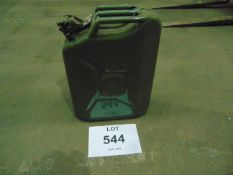 *NEW AND UNUSED* 20 LITRE FUEL CAN WITH LOCKING PINS