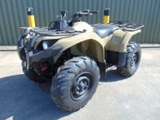 Recent Release from UK MOD Military Spec. Yamaha Grizzly 450 4 x 4 ATV with Winch ONLY 128 HOURS!
