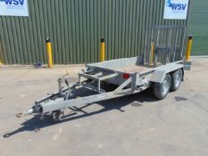 Indespension 2.7 Tonne Twin Axle Plant Trailer c/w Ramps
