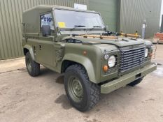 1998 Land Rover Wolf 90 Hard Top with Remus upgrade ONLY 89,208km!