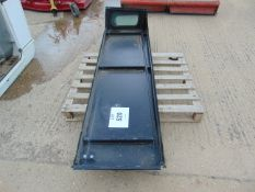 2X LAND ROVER 110 HARDTOP SIDE PANELS WITH REAR WINDOWS