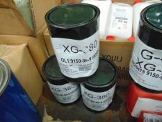 3 x Unissued 3Kg Drums of XG-380 Premium Grease Designed to Operate at High Temerature Ranges