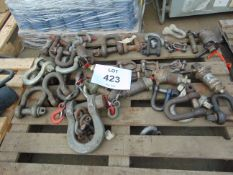 Recovery Equipment inc D shackles pins etc as shown