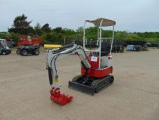 2020 XN 08 Diesel Mini Digger, 120 hrs only with blade etc