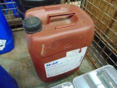 1 x Unissued 20L Drum of Mobil Rarus 427 Compressor Oil