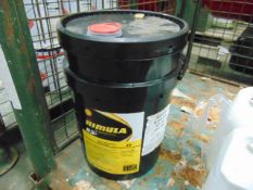 1 x Unissued 20L Drum of Shell Rimula R3+30 Heavy Duty Engine Oil