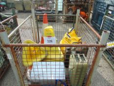 BOLLARDS, STRAPS, SPILL KIT, JERRY CANS, ETC