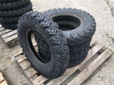 5 x Goodyear 6.50-16 Hi-Miler Xtra Grip Tyres