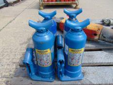 Q 4 Weber 3 Tonne Hydraulic Jacks