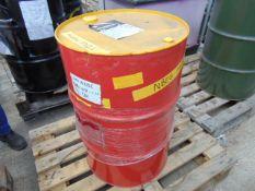 1 x Unissued 205L Drum of Shell Rimula R3 Multi Heavy Duty Diesel Engine Oil 10W-30 CM-4