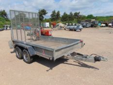 Indespension Challenger 2.6 Tonne Twin Axle Plant Trailer c/w Ramps