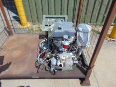 Lister / Peiter Diesel 6 kva 240v Generator 525 hrs as shown