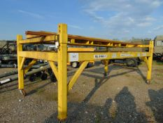3.5 TONNE VEHICLE DE- POLLUTION LIFT/RIG FULLY ADJUSTABLE WITH RAMPS.