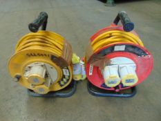 2 x 110V Cable Reels as shown