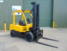 Hyster Fortens 3 Ton Diesel Forklift c/w 3 Stage Mast and Rotating Forks