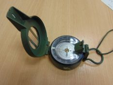 UNISSUED FRANCIS BARKER M88 PRISMATIC COMPASS, NATO MARKINGS MADE IN THE UK