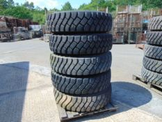 5 x Unused Goodyear G388 12.00 R20 Tyres complete with 10 stud rims
