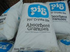 10 x PIG CRYSTA-LITE ABSORBENT GRANULES