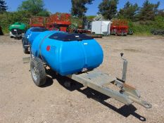 Water Bowser on Galvanised Trailer From UK Utilities