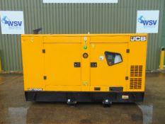 2019 UNISSUED JCB G115QS 110 KVA 3 Phase Silent Diesel Generator Set
