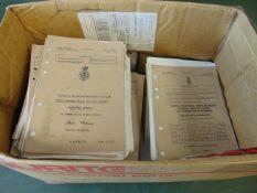 BOX OF SAXON MANUALS