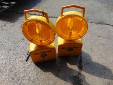 2 x JSP Maxlite flashing amber light