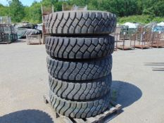 5 x Unused Goodyear G388 12.00 R20 Tyres complete with 10 stud rims.