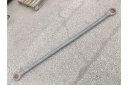 NATO hitch compatible straight bar
