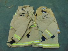 6 x Mixed Size Ballyclare Firefighters Jackets
