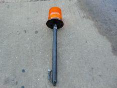 Unused Vehicle Amber flashing beacon